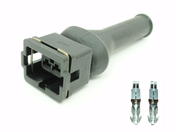 Connector type Bosch 2 pin with cap