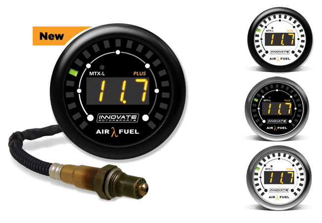 Innovate MTX-L PLUS Wideband Indicador de Ratio Aire Combustible (AFR)